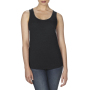 Anvil Tanktop Racerback TriBlend Black M