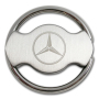 CJ2011 Steering Wheel Keyholder in Brushed Nickel Finishing