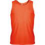 Herensporttop fluorescent orange s