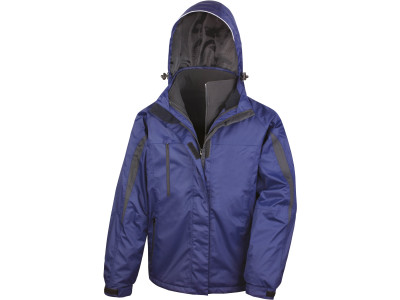 Mens 3-in-1 journey jacket with soft shell inner