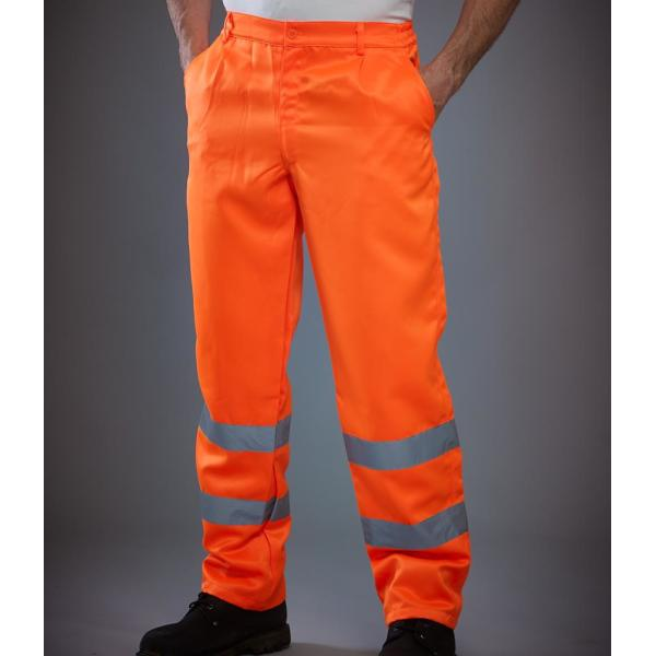 Hi-Vis Poly/Cotton Work Trousers