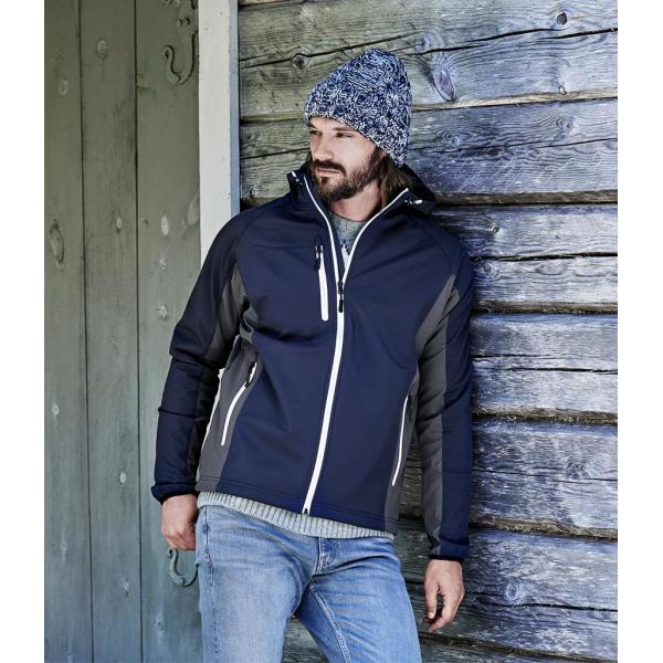Lightweight Performance Hooded Soft Shell Jacket