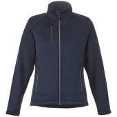Chuck softshell dames jas - Navy - XL