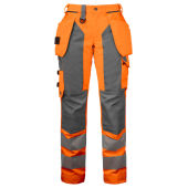 PROJOB 6519 PANTS HV LADY ORANGE/GREY 40