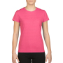 Gildan T-shirt Performance SS for her Safety Pink XXL