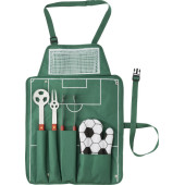 Nylon (600D) schort met barbecue set