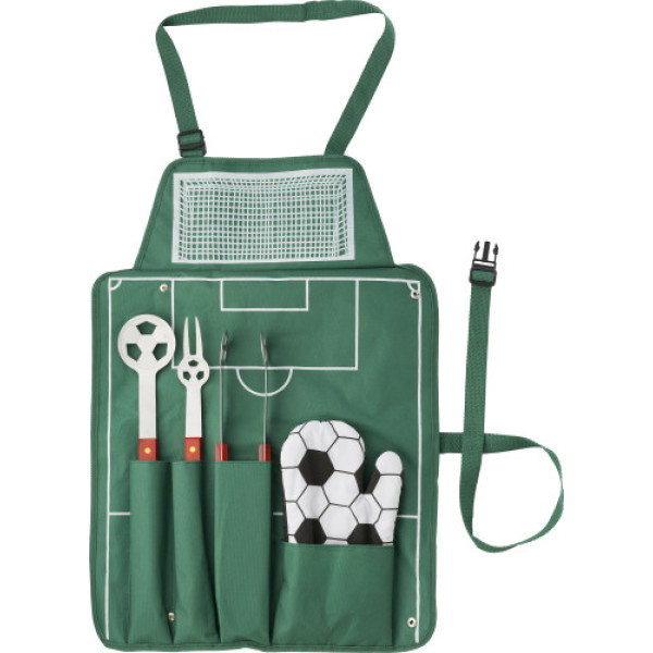 Nylon (600D) short metbarbecue set
