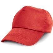 Cotton cap red one size