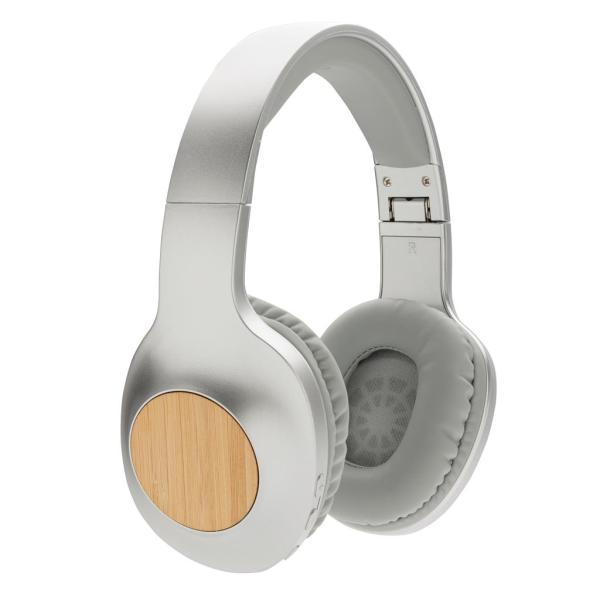 Casque audio en bambou Dakota