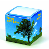 Cube Tree, robinia (4 languages)