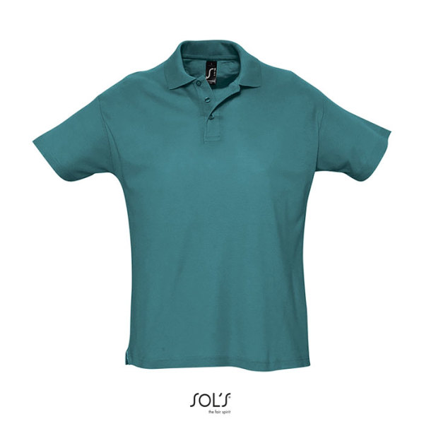 SUMMER II - SUMMER II-heren polo-170g