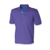 Men´s Contrast Piqué Polo Shirt 65/35