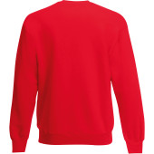Classic set-in sweat (62-202-0) red 3xl