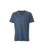 Men's Heather T-Shirt blauw-melange