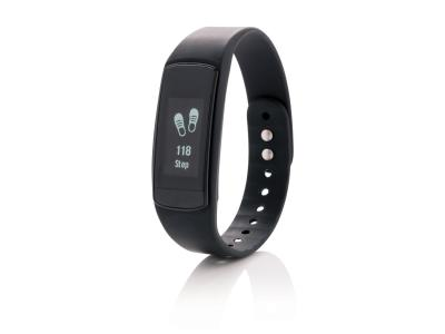 Activity tracker met touchscreen en dynamische hartslagmeter