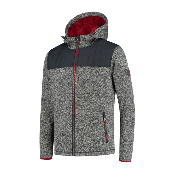 Macseis Cardigan Riptide Hybrid for him Grey/RD