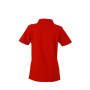 Ladies' Plain Polo rood/rood-wit