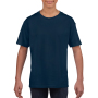 Gildan T-shirt SoftStyle SS for kids Navy XS