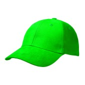 Basic Brushed Cap Groen