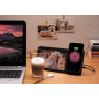 5W Wireless charger and photo frame, black
