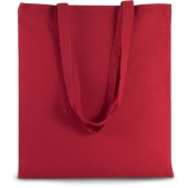 Basic shopper cherry red one size