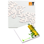 101 mm x 101 mm 25 Sheet Adhesive Notepads White paper