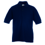 Kids 65/35 Polo, Deep Navy, 5-6jr, FOL
