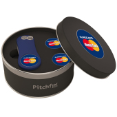 Pitchfix Original 2.0 in Round Tin with 2 extra Ballmarkers