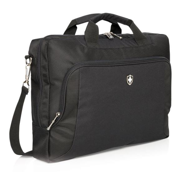"Swiss Peak deluxe 15"" laptop tas"