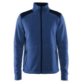 Craft Noble Zip Jacket Heavy Knit Fleece Men Hoodies & Sweatshirts