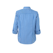 Ladies' Traditional Shirt - royal/wit