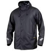 PROJOB 4430 RAIN JACKET BLACK L