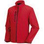 Men's softshell jacket classic red xl