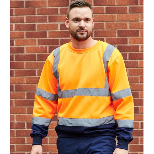 Hi-Vis Two Tone Sweatshirt