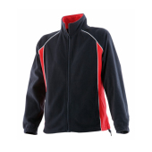 Dames Piped Microfleece