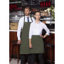 Bib Apron Basic with Buckle and Pocket 75 x 90 cm