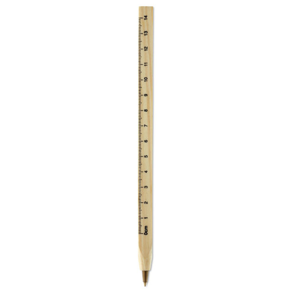 WOODAVE - Wooden ruler pen