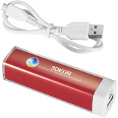 Flash powerbank 2200 mAh - Rood