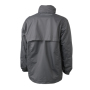 Men's Windbreaker - carbon/aqua