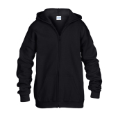 Heavy Blend™ Jeugd Full Zip Hooded Sweatshirt
