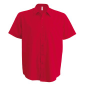 Ace - heren overhemd korte mouwen classic red 4xl
