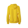 Ladies' Hooded Sweat zon-geel