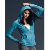 Womens' Tri-Blend Full Zip Hooded Jacket