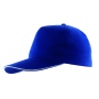 5-panel sandwich cap WALK - blauw