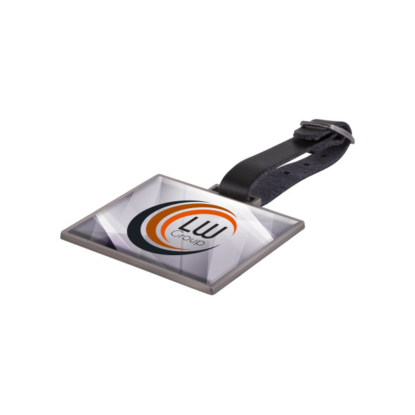 Metalen bag tag