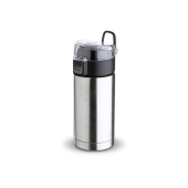 Thermobeker click-to-open 330ml - Zilver