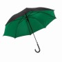 "Autom.Stickumbrella""Doubly""black/green"