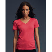 Women's Sheer V-Neck Tee