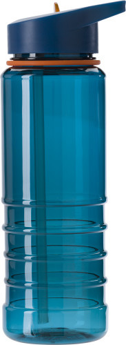 Tritan waterfles (700 ml) blauw