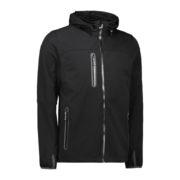 Men's lightweight soft shell jacket